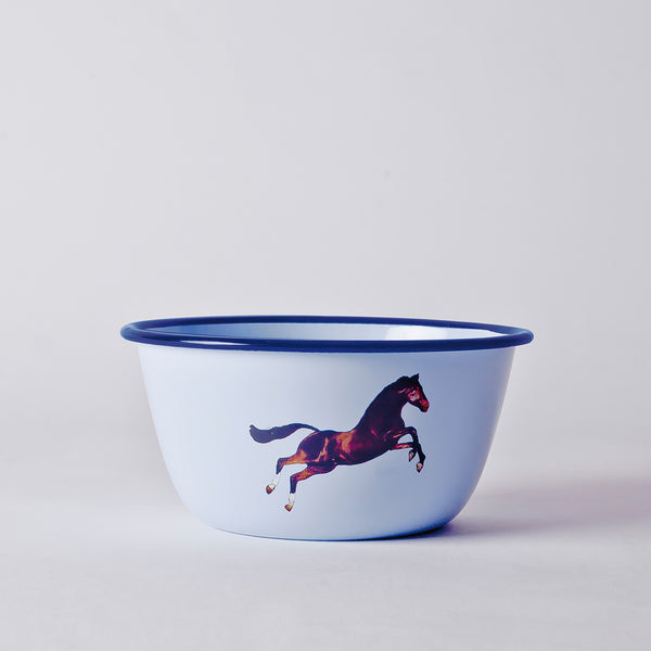 Seletti BOWL METAL ENAMELED - HORSE