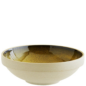 Madam Stoltz - Pottery Bowl Clay/Yellow