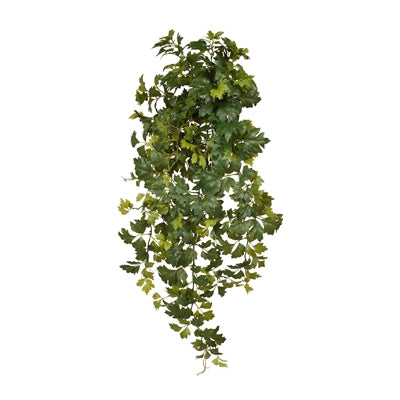 Floral Interiors Grape Leaf Hanging Bush