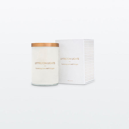 Lyttelton Lights Candle - Lemongrass & Ginger