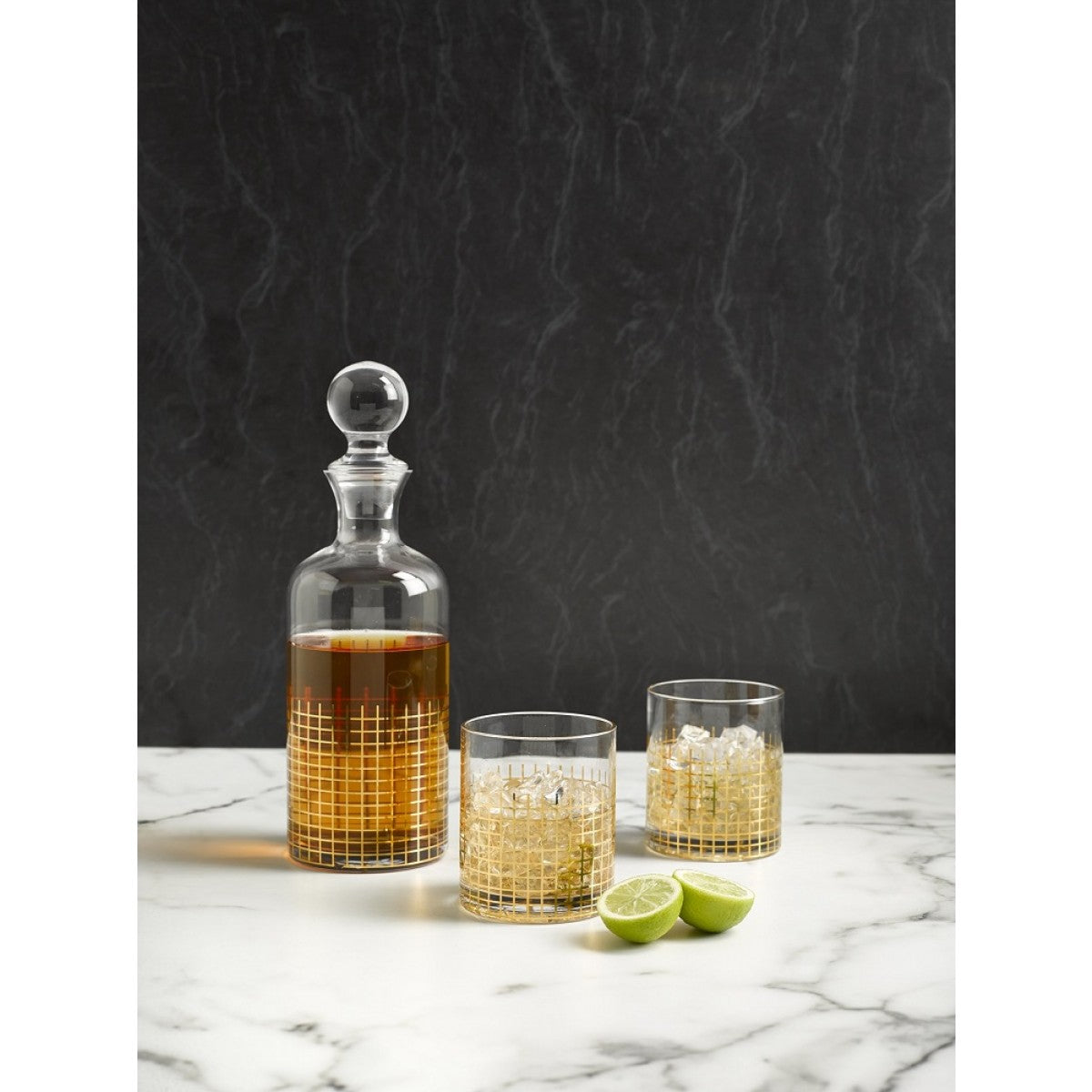 Nel Lusso Manhattan Whisky Decanter