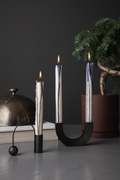 Ferm Living - Arch Candle Holder - Black Brass