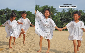 National day promo, discount, 9off, promotion, specials, kaftans, kaftan, kids, kids wear, childrenwear, beachwear, beach wear, beach, resort wear, tunic, summer, storewide, sale