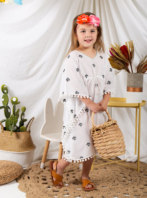 Kaftans, resort wear, kids resort wear, kids, children's wear, children's apparel, kids fashion, Baebeeboo, Isle of Bae, beach wear, beach, children, fashion, tunic, kaftan, cactus, ice cream, eye, shirt, boys, girls, 1-7 years old, holiday, lounge wear, comfortable, social conscious, bohemian, cotton, embroidery.