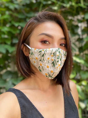 Daze-zee embroidery face mask (sold out! Pre-order 1 week wait)