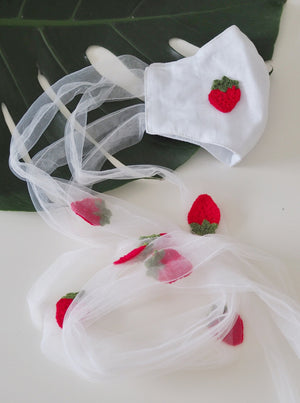 Open image in slideshow, Strawberry Face Mask: Pre-order