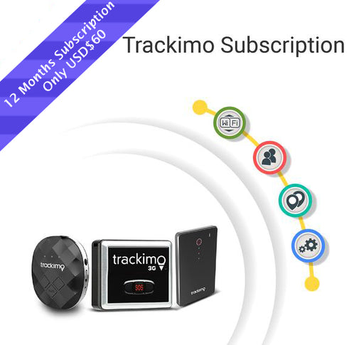 12 months Trackimo Subscription renewal Plan
