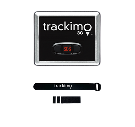 Trackimo Drones 3G Tracking Devices - GPS+SIM+Wi-Fi+Bluetooth+Ping + Velcro Drone Attachment. - Trackimo.com.au