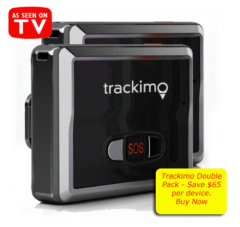Trackimo x 2, TRKM002, Global Tracking Device, GPS+GSM. SOS, Speed, History. 12 Months FREE Global Services
