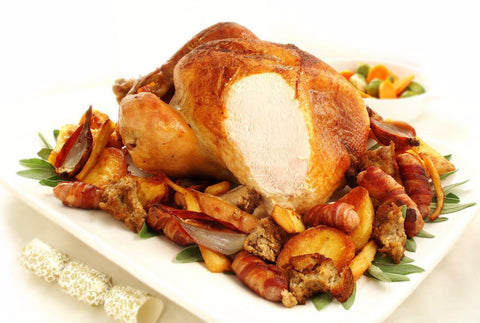 Traditional Local White Turkey