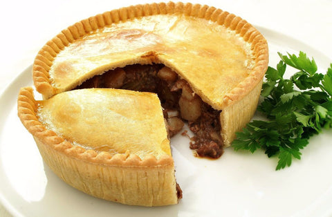 Family Sized Steak Pie