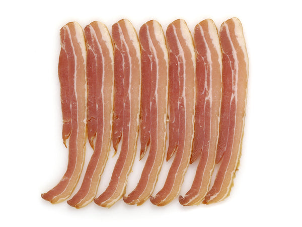 Free Range Dry Cured Streaky Bacon