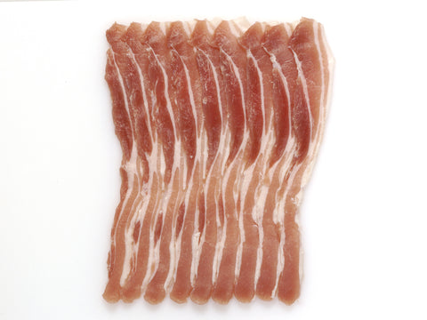 Smoked Free Range Dry Cured Streaky Bacon