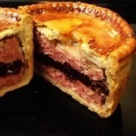 Pork, Black Pudding & Apple Pie