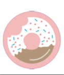 90's BABY - Doughnut badge