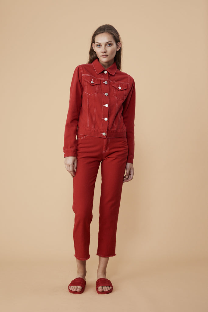 QUARTZ CLASSIC - RED DENIM