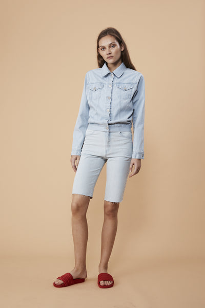 CRUISE SHORTS - LIGHT DENIM
