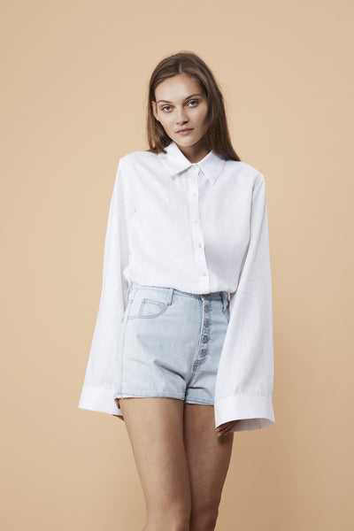HARBOURSIDE SHIRT - WHITE