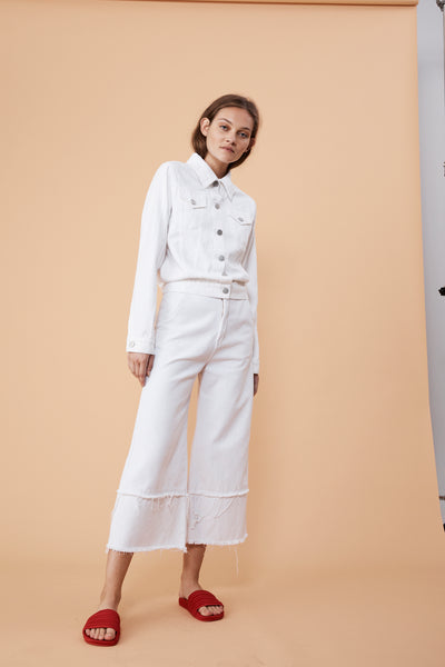 CRUISE CULOTTE - WHITE