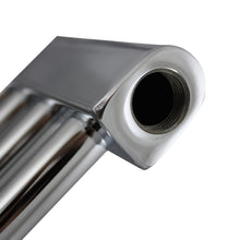 "Load image into Gallery viewer, 1/2"" BSP Thread Towel Rail Bleeding Plug Inlet Close Up Image"