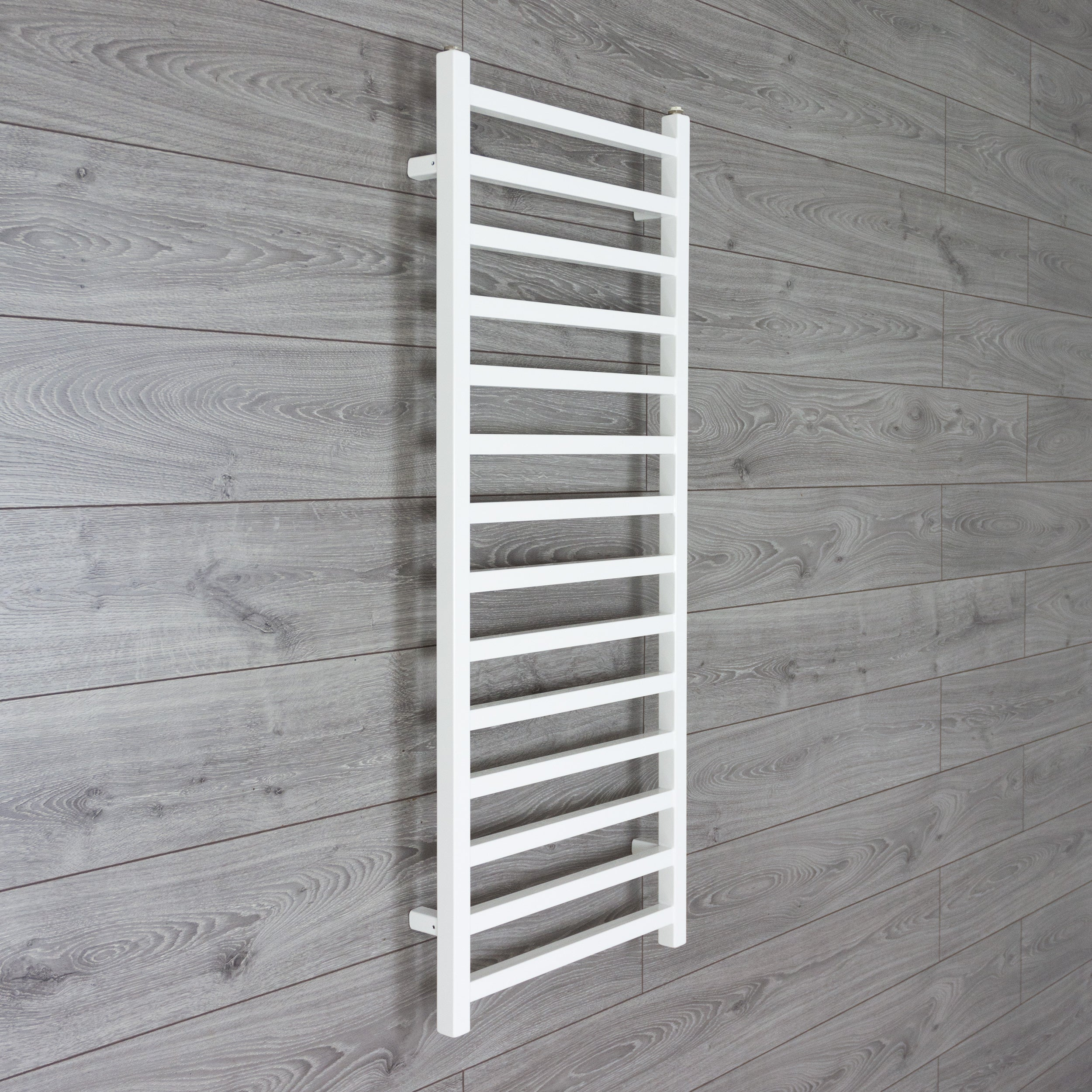 500mm 1200 mm Wide Square Tube Designer Heated Bathroom Towel Rail Radiator White Antracite