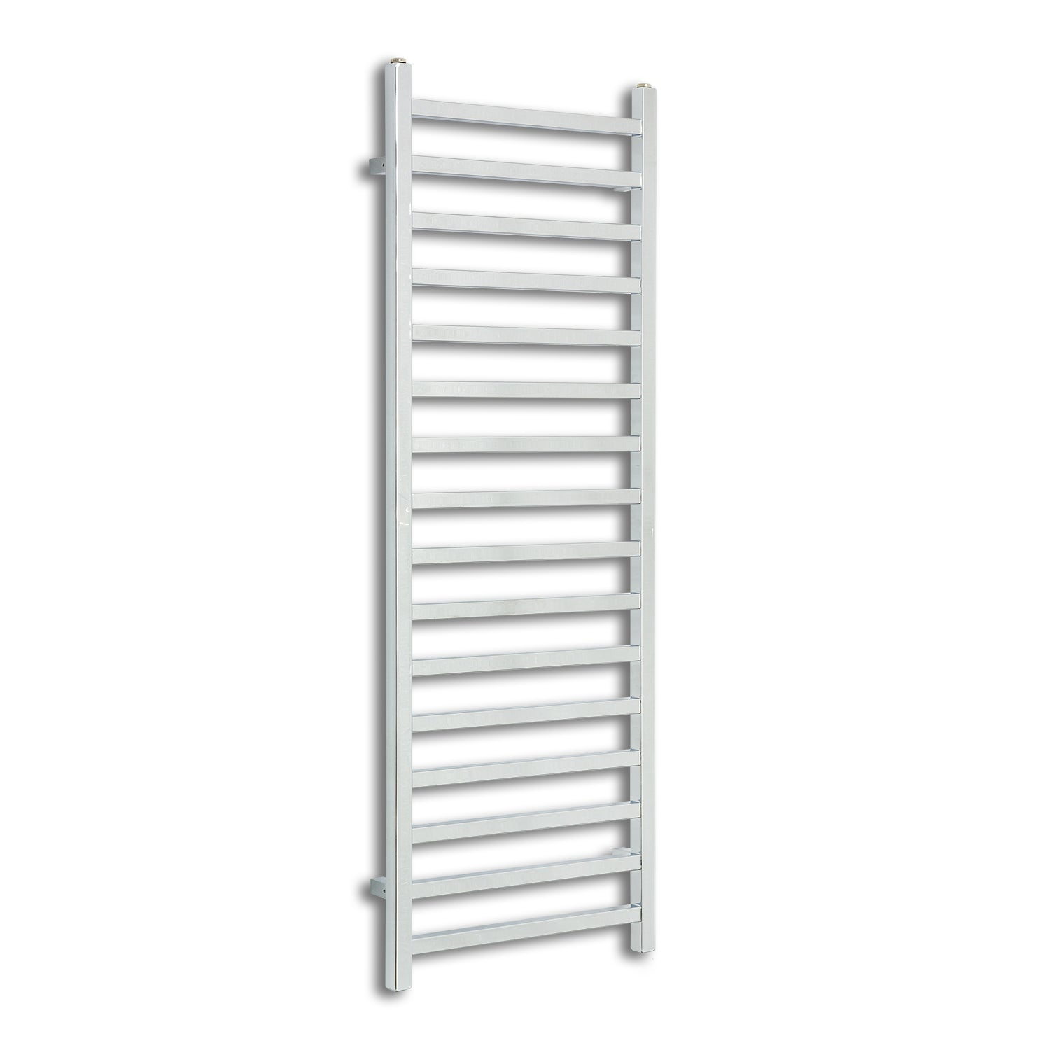 500mm Wide 1400mm High Chrome Towel Rail Radiator