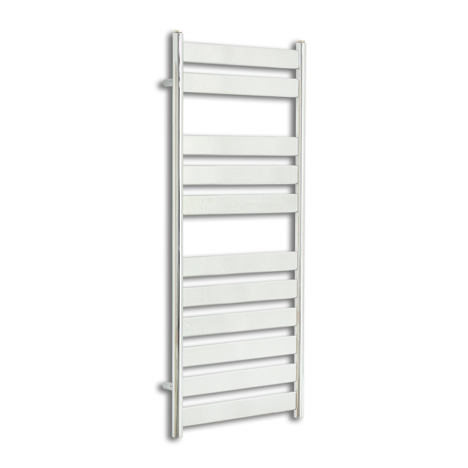 500mm Wide 1200mm High Chrome Towel Rail Radiator