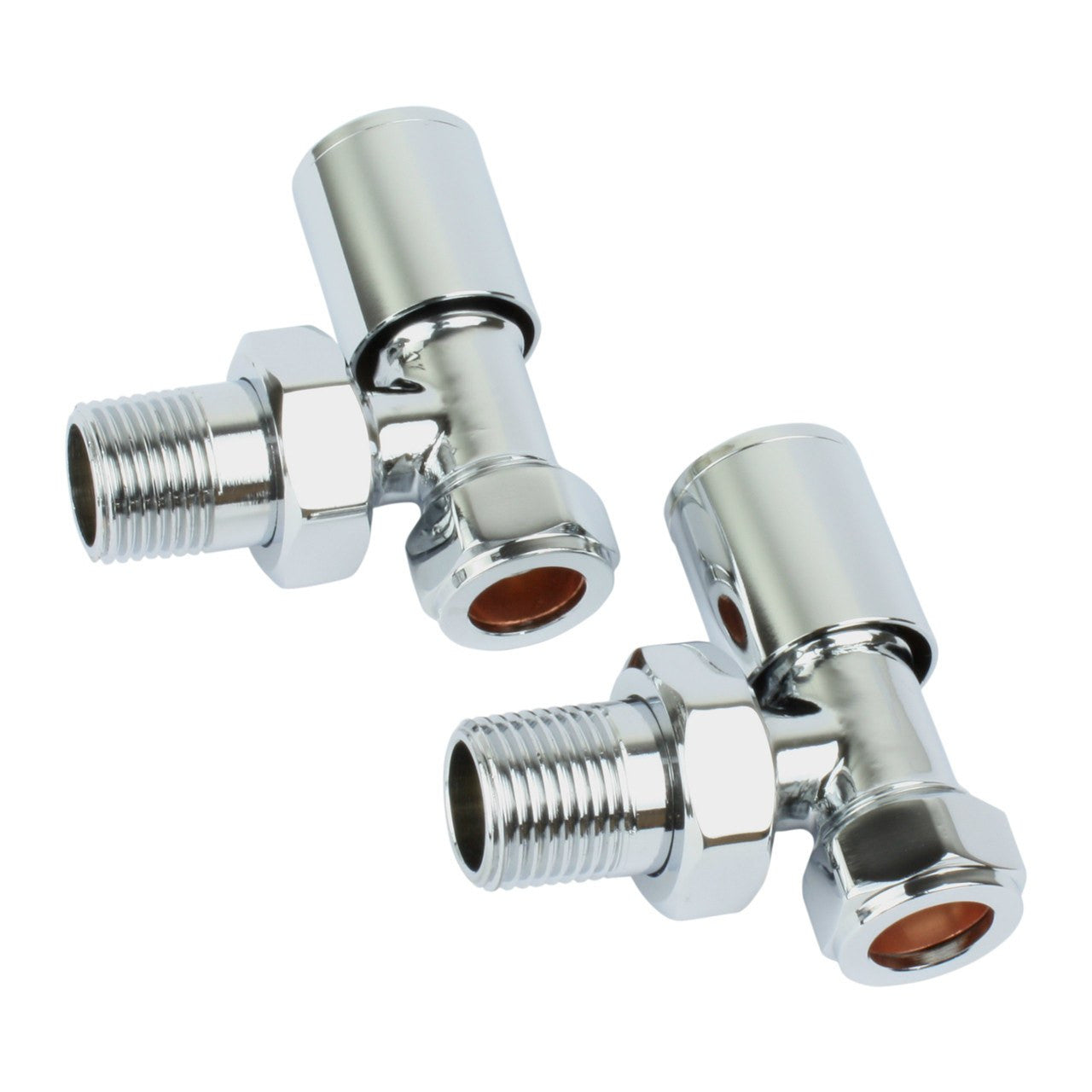 Dual Fuel Kit Chrome Thermostatic Heating Element - REG3 For Heated Towel Rail Radiator - Elegant Radiators