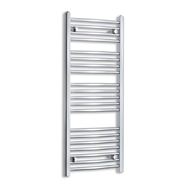 450mm Wide 1100mm High Chrome Towel Rail Radiator