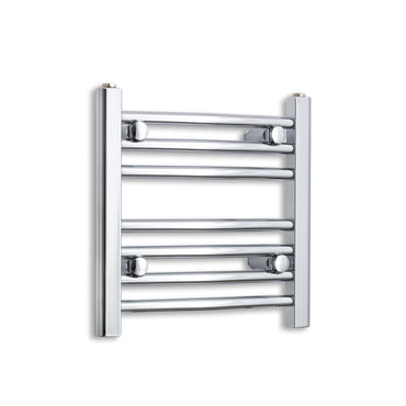 450mm Wide 400mm High Chrome Towel Rail Radiator