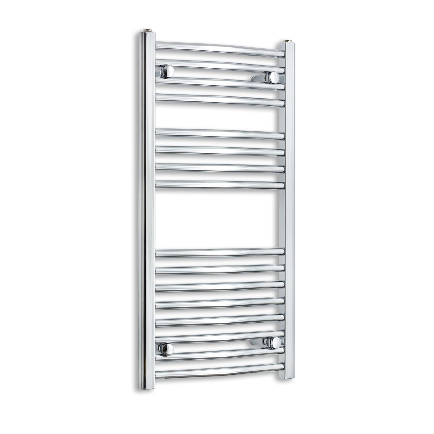 450mm Wide 900mm High Chrome Towel Rail Radiator