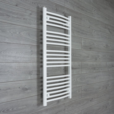 500mm Wide 1100mm High White Towel Rail Radiator