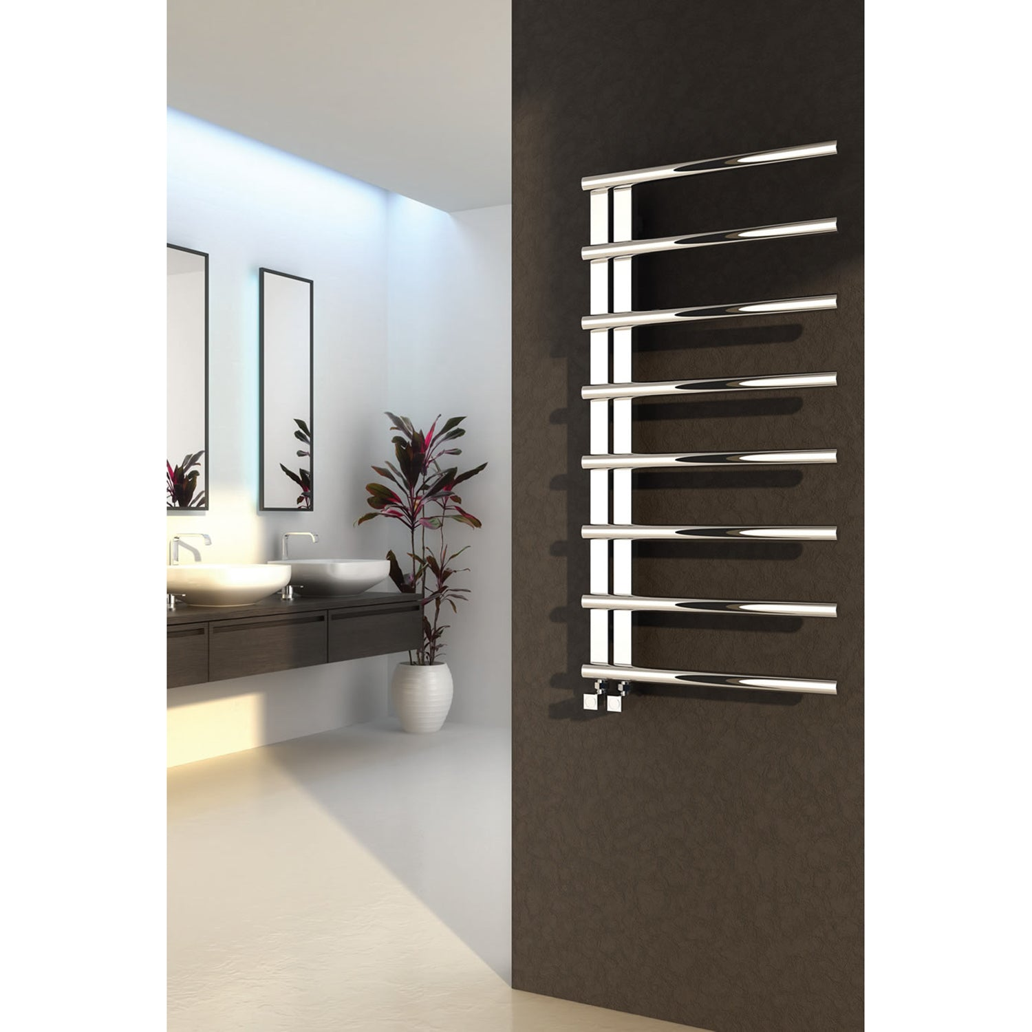 Reina Designer Celico Vertical Heated Towel Rail