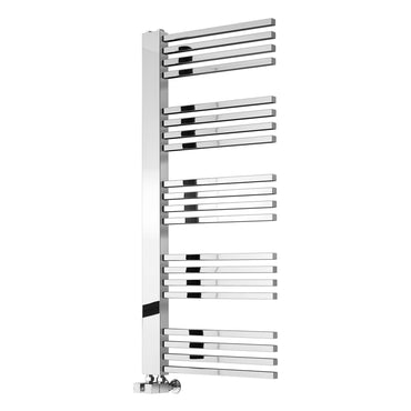 Dexi Designer Towel Warmer in Chrome by Reina