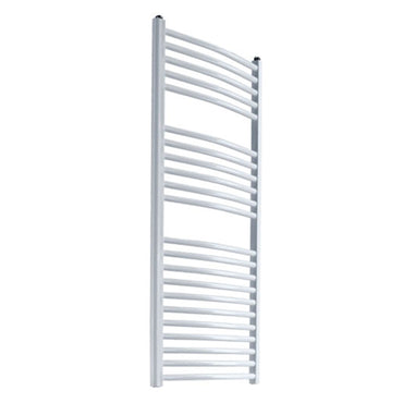 Reina Diva Designer White Heated Towel Rail Radiator