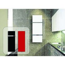 Load image into Gallery viewer, Designer Plate Style 1500 mm High x 500 mm Wide Heated Towel Rail Radiator White