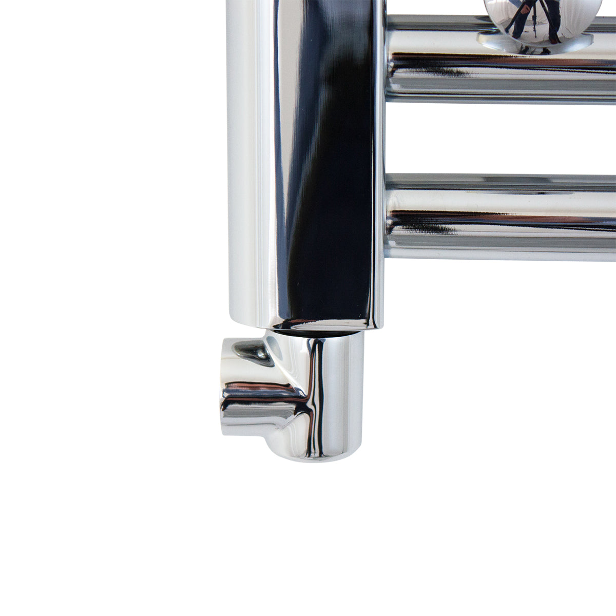 Elbow Chrome Fitting For Towel Rail Radiator in Chrome
