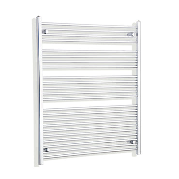 1000mm Wide 1200mm High Chrome Towel Rail Radiator