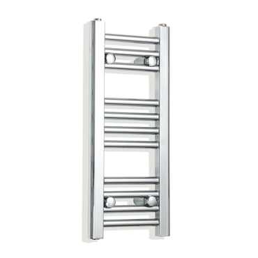 200mm Wide 600mm High Chrome Towel Rail Radiator