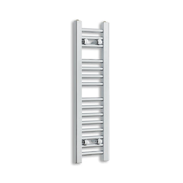 250mm Wide 800mm High Chrome Towel Rail Radiator