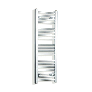 300mm Wide 1000mm High Chrome Towel Rail Radiator
