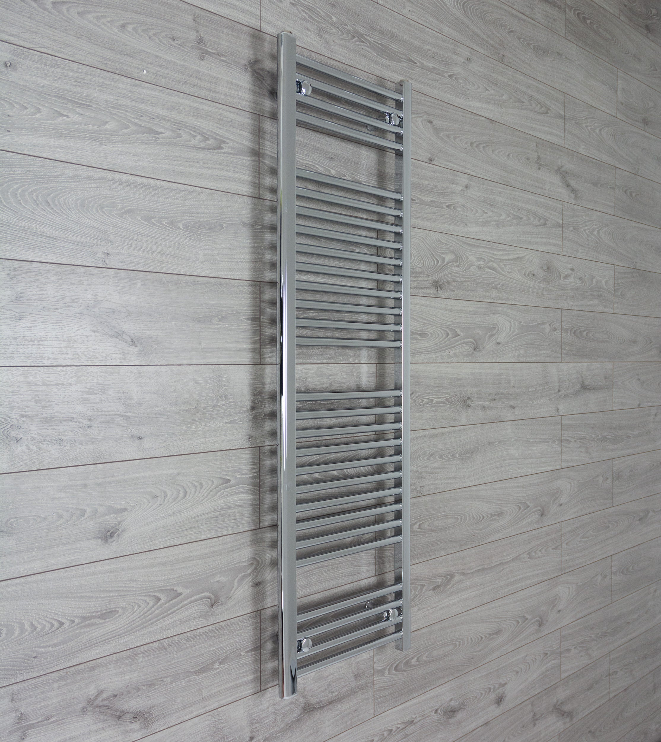 500x1500mm Flat Chrome Electric Element Towel Rail