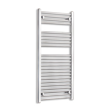 500mm Wide 1100mm High Black Towel Rail Radiator