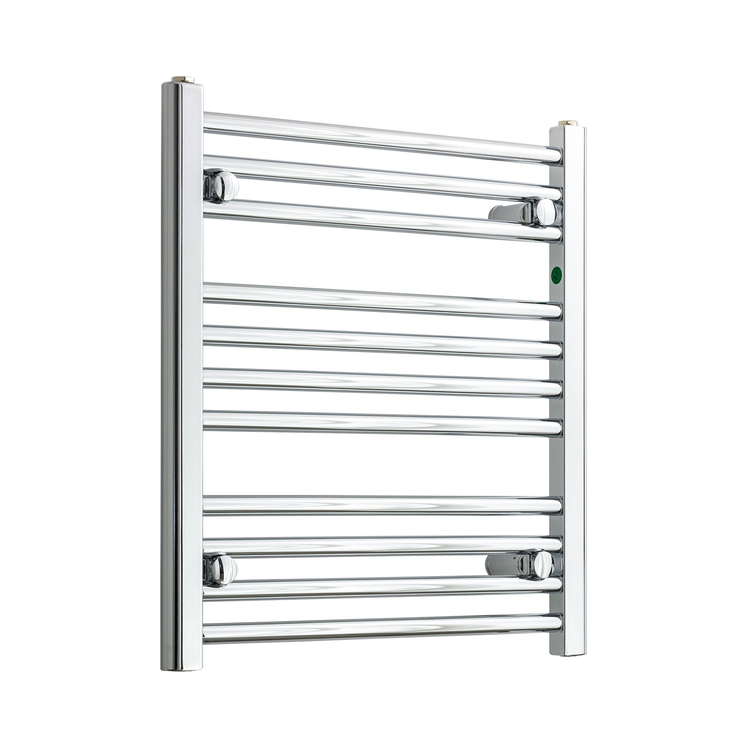 550mm Wide 600mm High Chrome Towel Rail Radiator