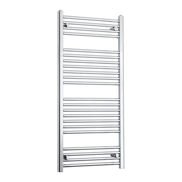 600mm Wide 1200mm High Chrome Towel Rail Radiator