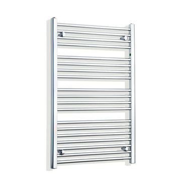 650mm Wide 1000mm High Chrome Towel Rail Radiator