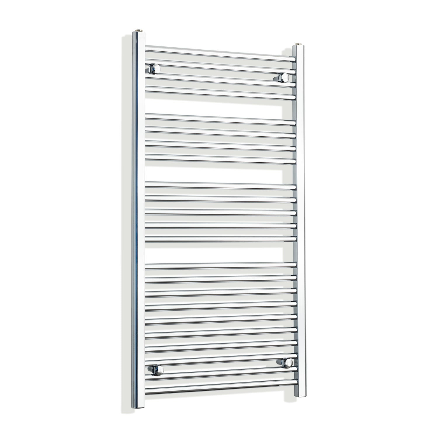 700mm Wide 1200mm High Chrome Towel Rail Radiator
