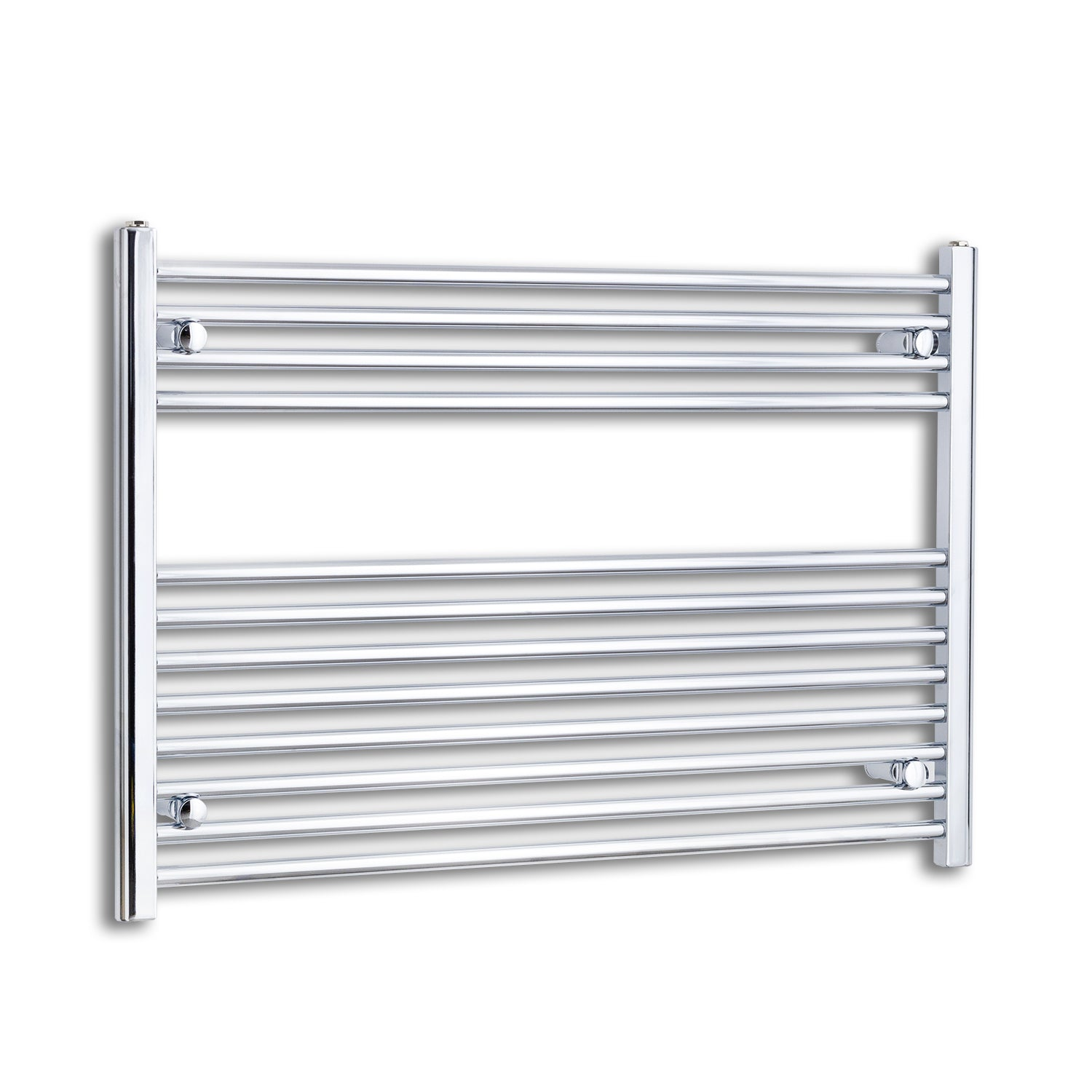 1000mm Wide 700mm High Chrome Towel Rail Radiator