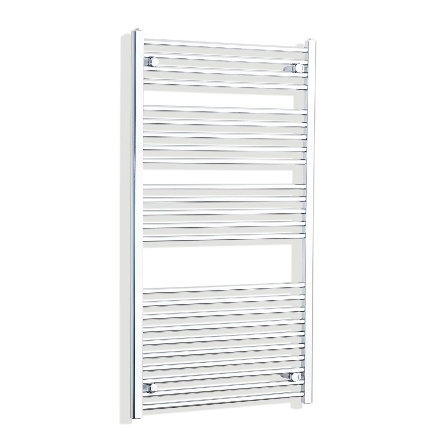 700mm Wide 1300mm High Chrome Towel Rail Radiator
