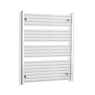 750mm Wide 1000mm High Chrome Towel Rail Radiator